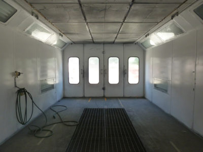 photo of clean painting room