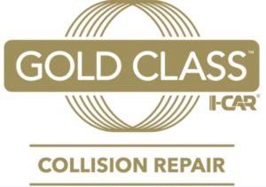 gold class I-car logo